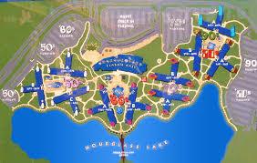 walt disney resort map disney echo