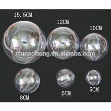 different sizes clear plastic balls for ornaments view