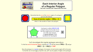 Regular Pentagon Interior Angles Shapes And Designs Ms Rice U0027s Room