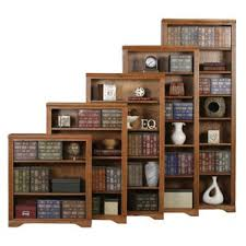 Staggered Bookshelves by Rustic Bookcases You U0027ll Love Wayfair