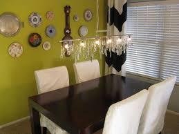 diy dining room light linear dining room chandeliers vintage crystal diy linear