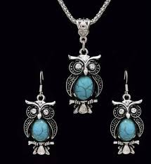 tibetan silver turquoise necklace images Retro tibetan silver turquoise jewelry set jpg