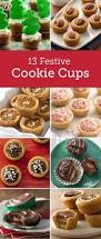 13 cute christmas cookie cups fun food food ideas and christmas