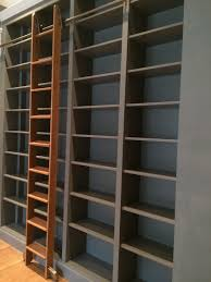 Bookcase Ladder Hardware by Sliding Ladders For Bookcases Best Shower Collection Best