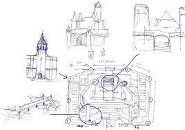 Castle Blueprint Minecraft Castle Blueprints Step Planscazi House Plans 55025