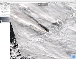 Pavlof Volcano Map Eruption Of The Pavlof Volcano In Alaska Cimss Satellite Blog