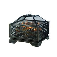 Fire Pit Pleasant Hearth Martin 26 In Extra Deep Fire Pit Ofw165s The