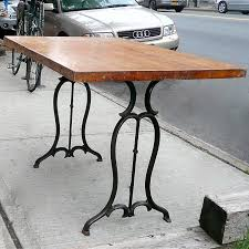 solid wood sewing machine cabinets reclaimed industrial table industrial table industrial and solid wood
