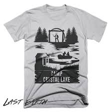 camp crystal lake t shirt camping shirt friday the 13th tshirt