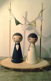 the original cake toppers and frame custom wedding cake