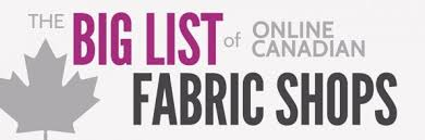 Drapery Fabric Toronto The Big List Of Canadian Online Fabric Shops The Finished Garment