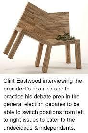 Clint Eastwood Chair Meme - 25 best memes about ict ict memes