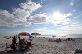 day at the beach on anna maria island huffpost
