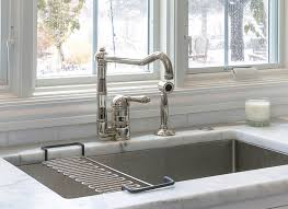 rohl kitchen faucets kitchen faucet kitchen faucet on marble countertop and stainless