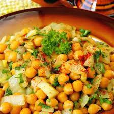 cuisiner pois chiche recette salade de pois chiches simple