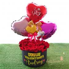 heart balloon bouquet balloon bouquet deity house