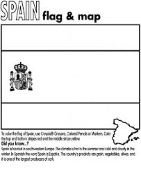 spanish flag coloring page coloring kids coloring pages regarding