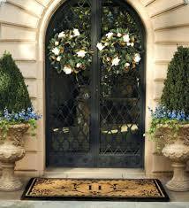 front doors front door decoration ideas for spring front door