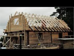 hand build architectural wood framework model house the birth of a wooden house extended youtube