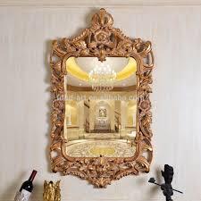 Home Mirror Decor Designs Hallway Deor With Unique Wall Mirror And Unique Wood
