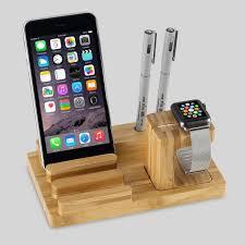 2017 bamboo wood mobile phone holder bracket cell phones mount