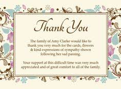 funeral thank you cards card design ideas encouraging words thank you card for funeral