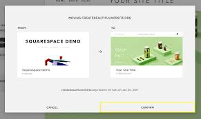 Squarespace by Squarespace Help Moving A Domain Between Sites