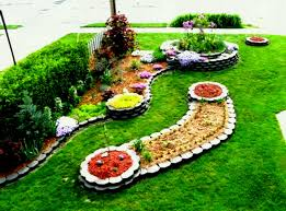 Corner Garden Ideas Flower Garden Designs For Small Spaces Home Within Idea Design