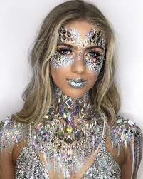ice queen halloween makeup ideas popsugar beauty