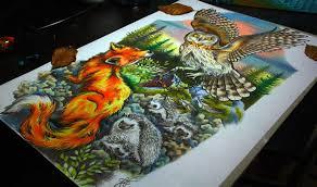 samarina u0027s bright colored drawings and tattoos scene360