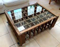 wine rack side table the sofa table wine rack foter concerning coffee designs great