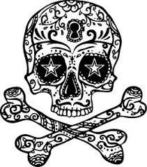 amazon com halloween skull u0026 cross bones temporary tattoo set
