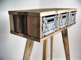 reclaimed wood furniture by sascha akkermann