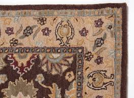 Blue Brown Area Rugs Traditional Royal Wool Hand Tufted Area Rug Carpet 5x8 Brown Blue