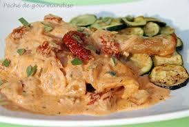 cuisiner des restes de poulet poulet et sauce crémeuse aux tomates séchées péché de gourmandise