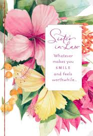 makes you smile marjolein bastin birthday card for sister in law