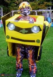 Bumblebee Transformer Halloween Costume Coolest Optimus Prime Bumblebee Costume Costume Ideas