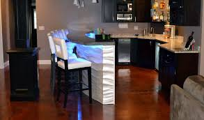 Wood Flooring For Basement by Stained Concrete Basement Floor Concrete Craft