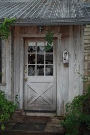 Cottage Doors Exterior Worn Wood Interior Design Inspiration Pinterest Cottage