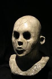 creepy mask shattered doll mask revenantfx
