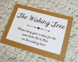 wishing tree cards wishing tree card for graduation party 5x7 sign