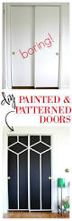 8 Foot Tall Closet Doors by Best 25 Closet Door Makeover Ideas On Pinterest Door Makeover