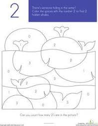 number 2 free printable worksheets worksheets pinterest