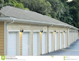 single car garages garages in a row stock photo image 56947176