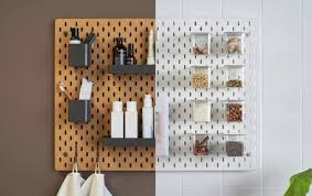 pegboard kitchen ideas 47 easy ways to get organized use of diy pegboard ideas