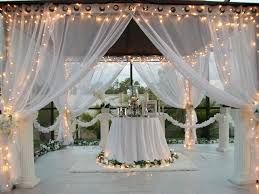 patio pizazz outdoor gazebo white wedding drapes price includes