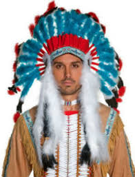discount american indian feather headdress for sale