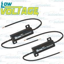 load resistors for led lights low voltage led load resistor 4 trailer tail stop lights indicator