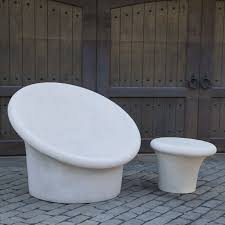 Stone Chair Contemporary Concrete Furniture Calla Chair Stone Yard Inc