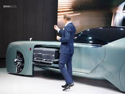 rolls royce concept car rolls royce vision next 100 live photos from london